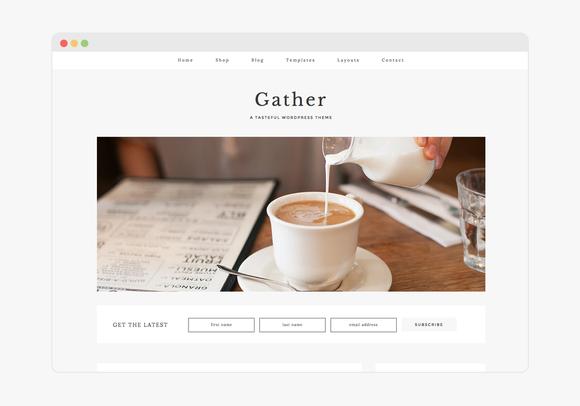 Gather v1.0 - Wordpress Theme