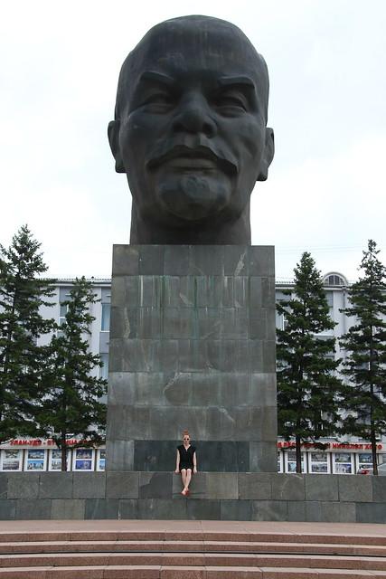 World's biggest Lenin statue