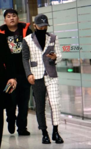 Tae Yang - Incheon Airport - 09jan2015 - YB 518 - 01