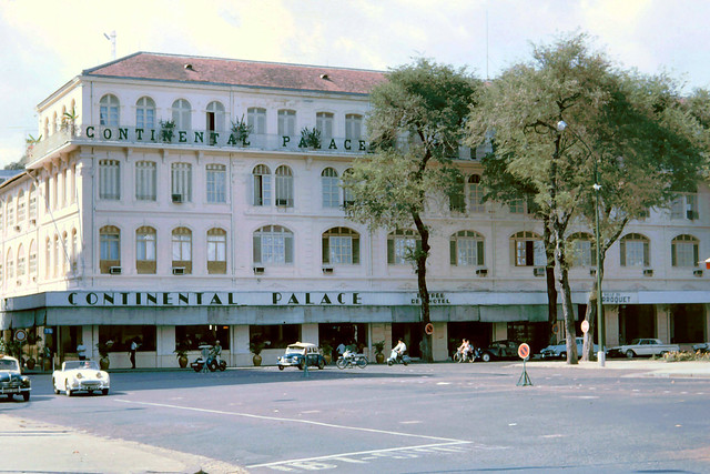 SAIGON 1965 - Continental Hotel. Photo by John Hansen