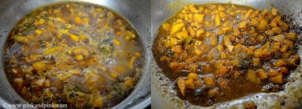 Orange peel pickle step5