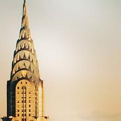 Friday Sunset illuminating my favorite Chrysler Building.  I can stare at this elegant building all day.  #Friday #sunset #midtown #midtowneast #midtowncityscape #mynyc #mynewyork #chryslerbuilding