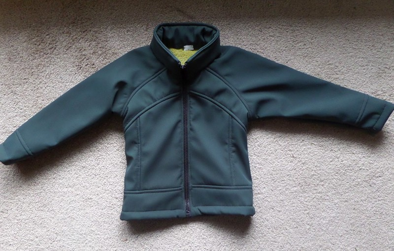 baby jacket front