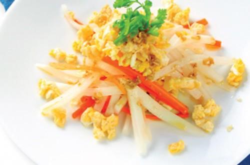 Củ cải trắng ngăn ngừa ung thư và trị viêm loét dạ dày tốt