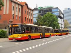 """Solaris Urbino 18III, A-724, """"Mobilis"""" Oddz. Warszawa"""