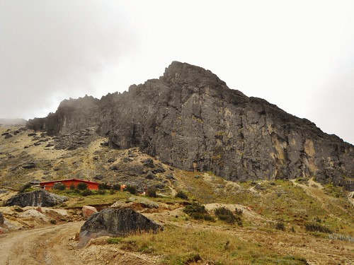 Pichincha Hut and Basalt Crag