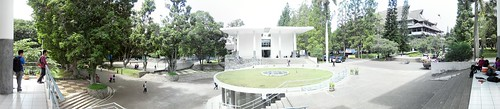 panorama building campus itb institutteknologibandung
