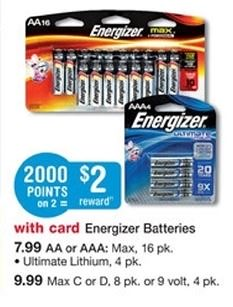 photograph about Printable Battery Coupons identified as $11.50 inside of Clean Energizer Battery Solutions Printable Discount coupons