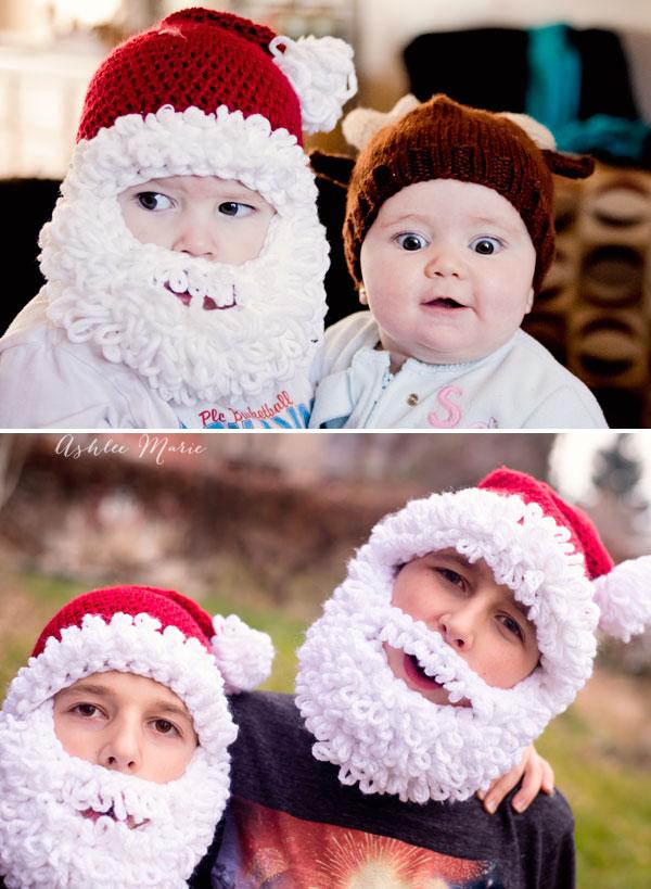 Double Loop Crochet Santa Beard Pattern - multiple sizes ...
