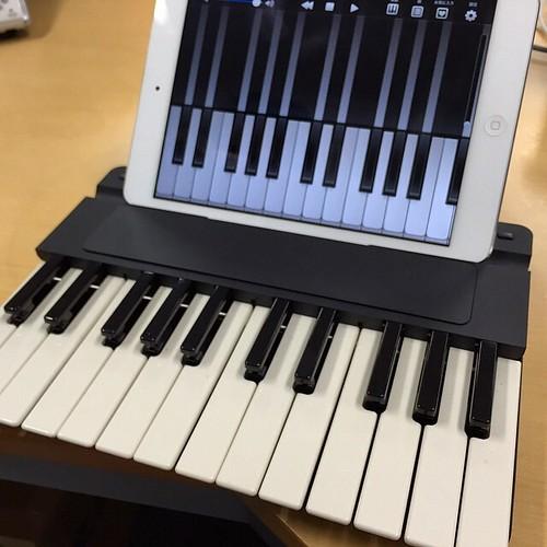 Miselu C.24にiPad miniをセット!これは楽しい楽器!