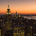 Sunset from the Top of the Rock by Jerry Howells