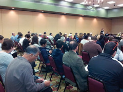 Unit convention attendees fill a ballroom in Lawrence, Kansas. Photo courtesy of Rex Block