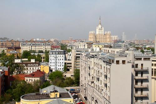 Alugando apto em Moscou