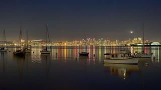 San Diego after Dark