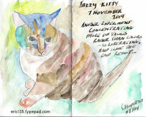 JazzyKitty in Watercolor