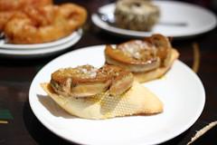 Pincho de foie en el Gaucho (Pamplona)