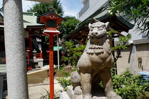 吉原神社-狛犬
