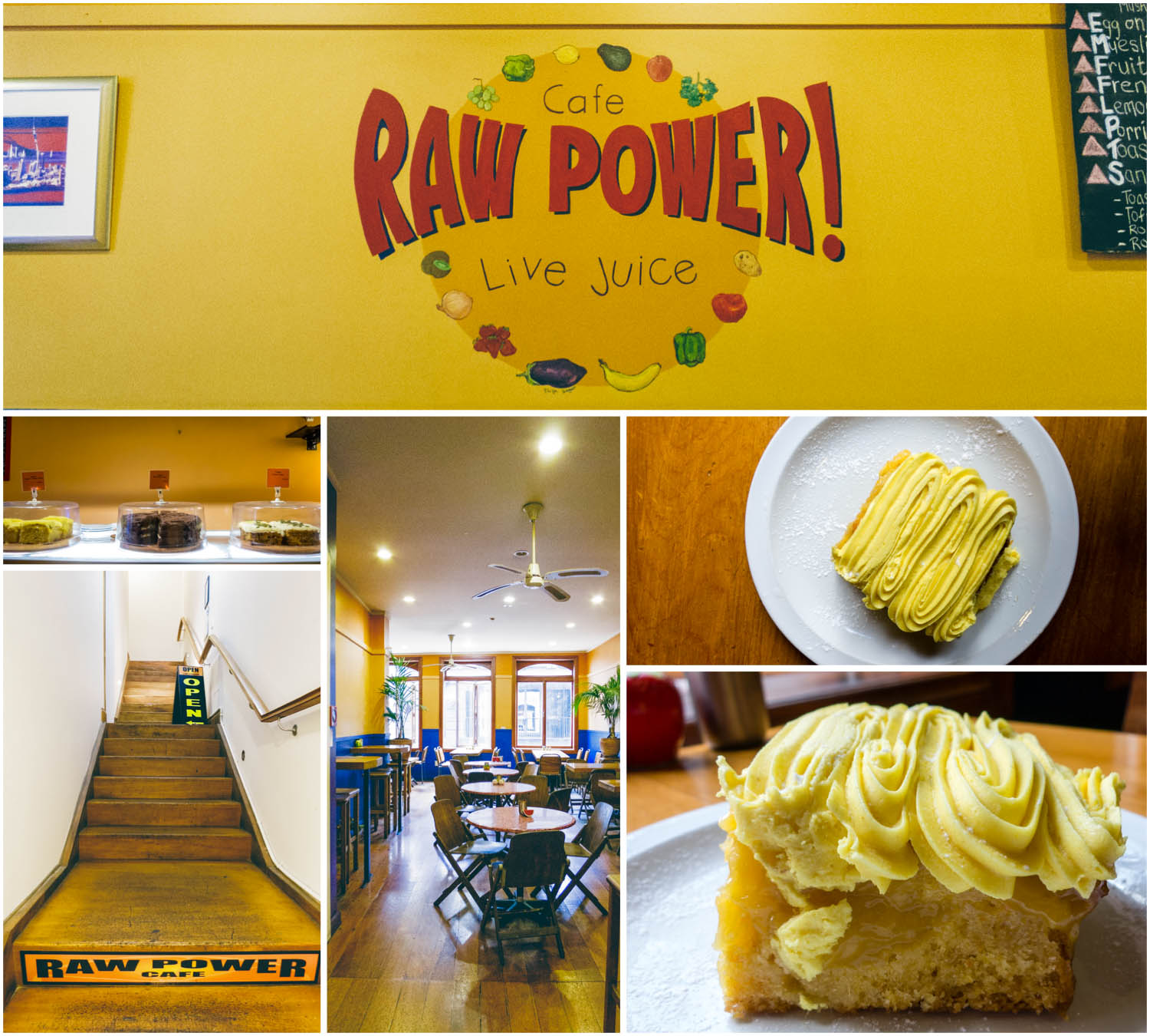 Cafe Raw Power Auckland