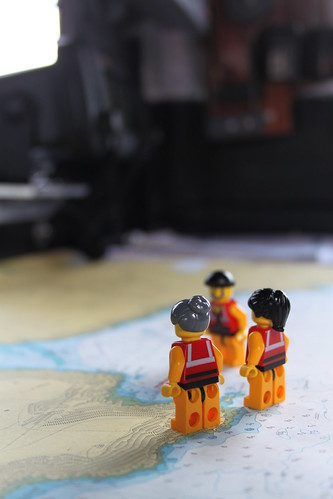 The Crew in the navigation area