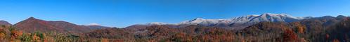 autumn fall tennessee northcarolina flattopmountain baldmountains i26overlook