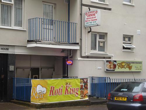 Roti King, Euston, London NW1