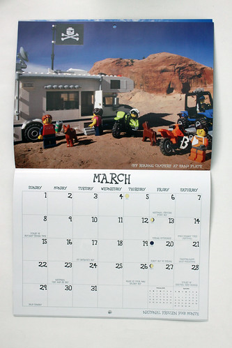 Brickrock Moab 2015 Wall Calendar