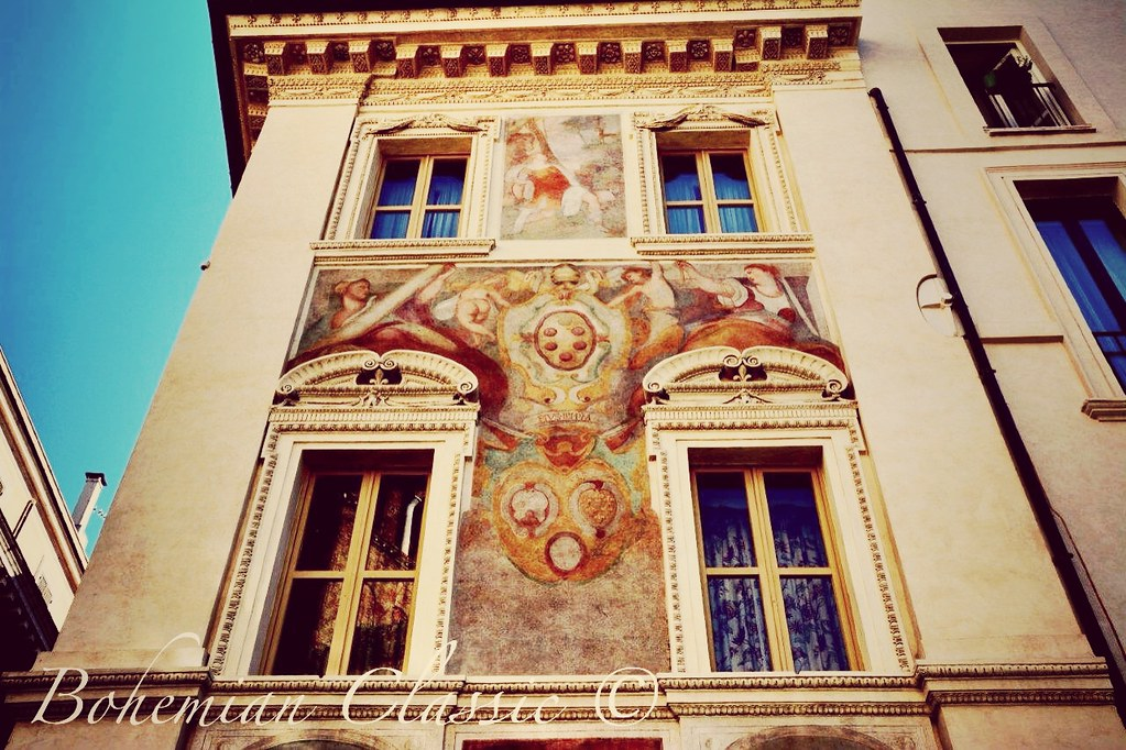Wallpaintings Rome Italy