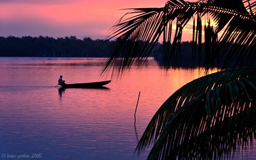 africa sunset lagune landscape african benin bruno coucherdesoleil atlantique portier babsdock togbin brunoportier houndodji