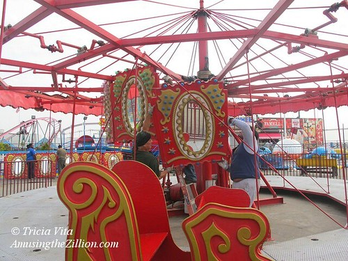 Deno's Wonder Wheel Park Carousel