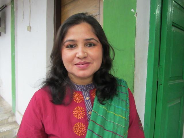 Rubina Patel (Pic by Nivedita Khandekar)