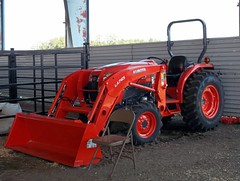 Kubota Tractor With LA765 Loader.