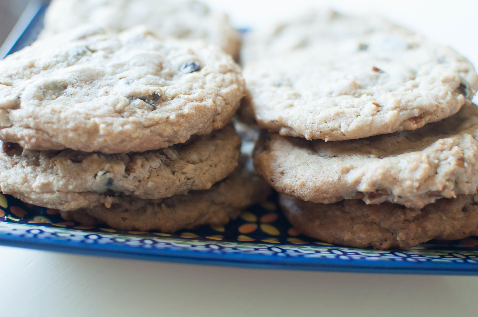 Toasted Pecan and Coconut Chocolate Chunk Cookies 2
