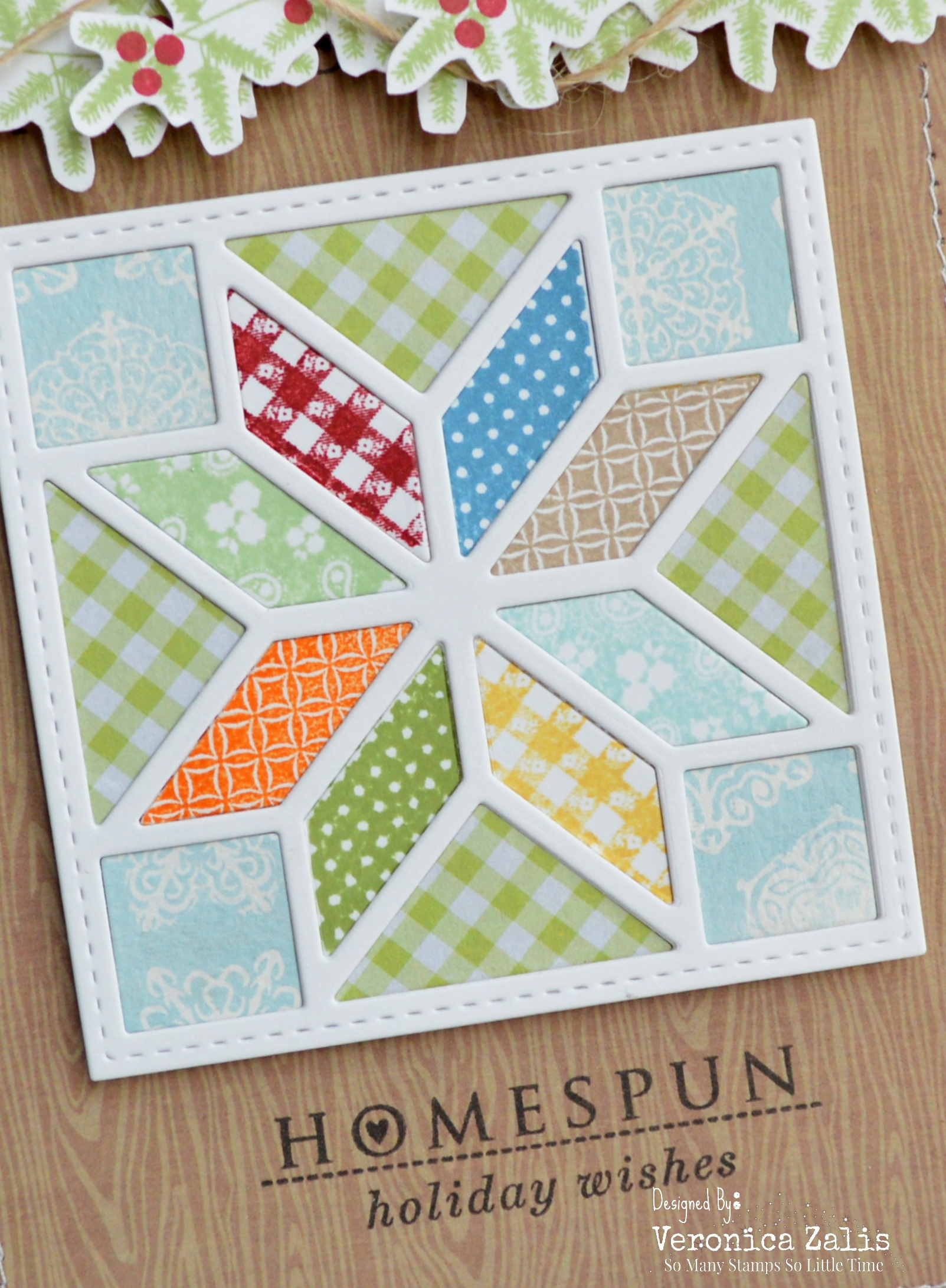 Homespun Close-up