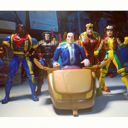 Retro Toybiz X-Men figures...