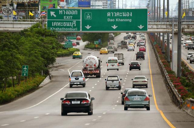 Autopistas de Bangkok