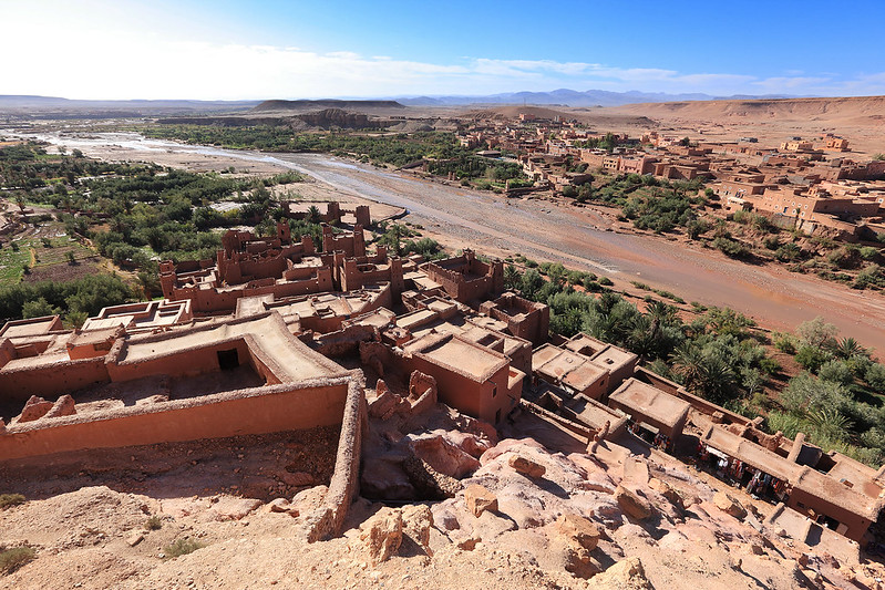 View from Ksar Aït Benhaddou