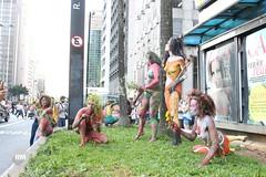 Nuas na Av. Paulista