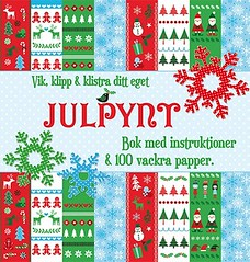 Book cover of a Swedish Craft book called Julpynt, on www.ihanna.nu