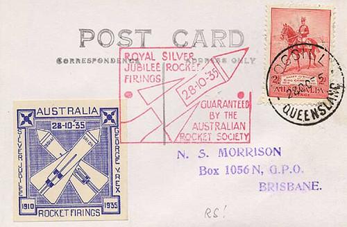 ARS rocket mail