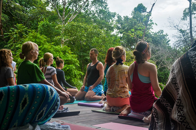 Meditation in Costa Rica