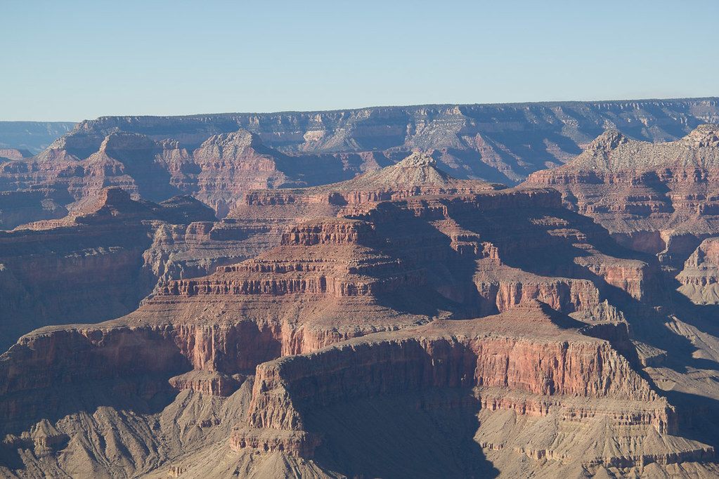 View from Hermits Rest Trail at the Grand Canyon