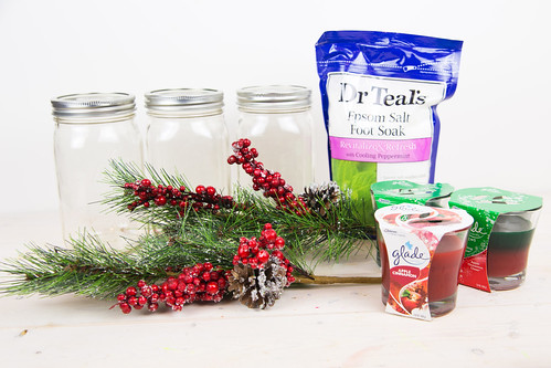 diy christmas mason jar candle holder - Diy Candle Holders