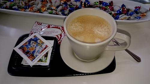 Kaffee bei meiner Friseurin
