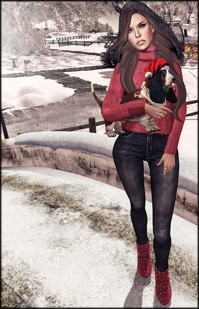 Winter chica