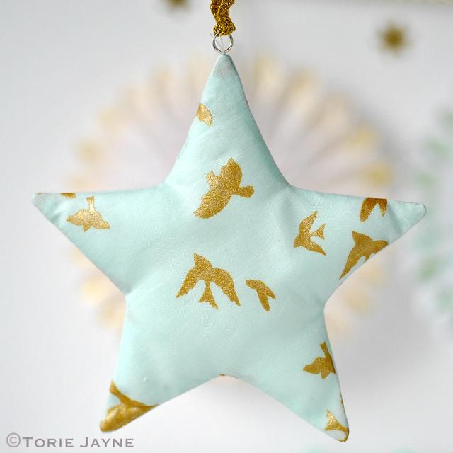 Fabric stars 3