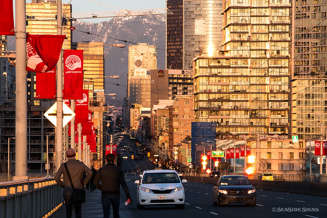 Sunset on the Strip ~ Vancouver, BC