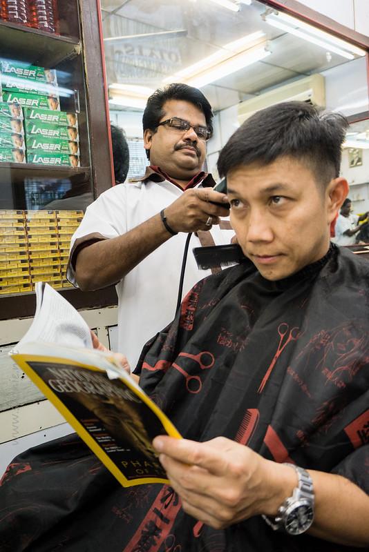 Stylo Indian barber Kuala Lumpur - haircut