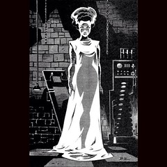 Bride of Frankenstein by Bruce Timm. #comics