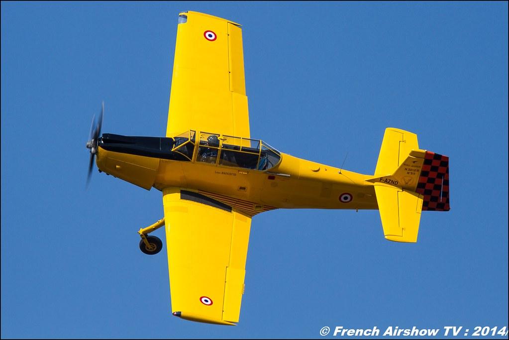 Nord 3202 Master, DOMMARTIN Bertrand, Nord-Aviation, F-AZND, Meeting des 60 ans de l'ALAT 2014 ,Cannet des Maures