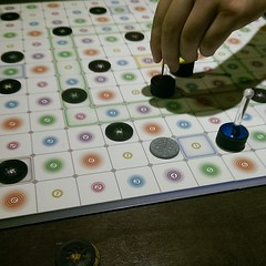 Stay in my vicinity too long and you'll get sucked into abstract games... #repello from mindtwister games